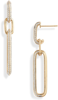 Bony Levy Varda Diamond Link Earrings