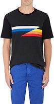 Rag & Bone Men's Glitch Striped Cotton T-Shirt