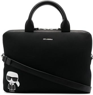 Karl Lagerfeld Paris K/Ikonik laptop bag