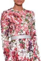 Dolce & Gabbana Crystal Embellished Waist Belt