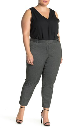 Amanda & Chelsea Pinstripe Comfort Waist Ponte Pants
