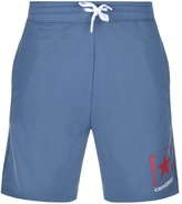 Converse Box Star Logo Jersey Shorts Blue