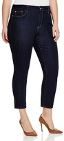 NYDJ Plus Ira Slim Ankle Jeans in Dark Enzyme
