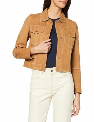 Sisley Women's Giubbotto Scamosciato Jacket