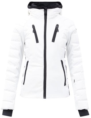 Goldbergh Fosfor Star-patch Quilted Down Jacket - White