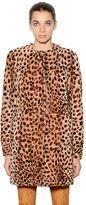 Drome Leopard Printed Shearling Coat