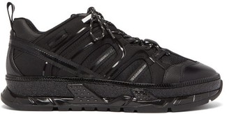 Burberry Union Raised-sole Trainers - Black