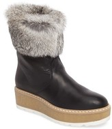 Rudsak Women's Treasure Genuine Rabbit Fur Trim Winter Boot