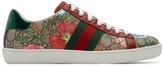 Gucci Multicolor GG Flora Ace Sneakers