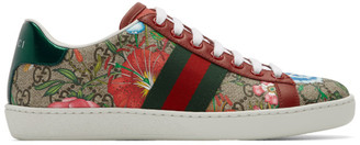 Gucci Multicolor GG Flora Ace Sneakers