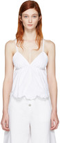 See by Chloe White Flower Camisole