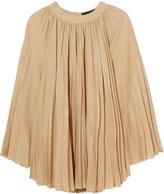 Vanessa Seward Baden pleated silk mini dress
