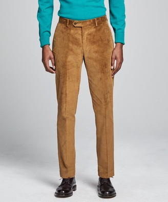 Todd Snyder Italian Stretch Cord Sutton Suit Trouser in Camel