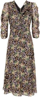 By Ti Mo Floral-print Midi Dress
