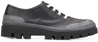 Marni Two-Tone Lace-Up Brogues