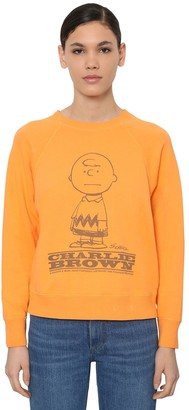 Marc Jacobs Charlie Printed Cotton Jersey Sweatshirt