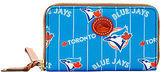 Dooney & Bourke MLB Bluejays Zip Around Phone Wristlet