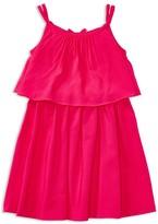Ralph Lauren Girls' Drapey Dress - Sizes 2-6X