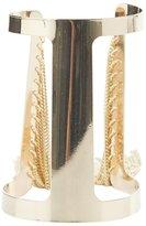Charlotte Russe Fringe Open Cuff Bracelet
