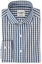 Ben Sherman Navy/Grey Plaid Dress Shirt