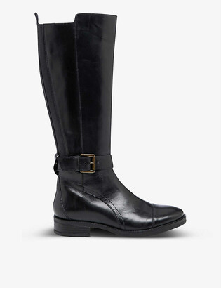 Bertie Tusk leather knee-high boots