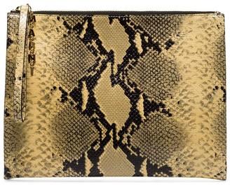 Marni Snakeskin Effect Clutch Bag