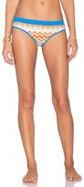 Shoshanna Laguna Banded Bikini Bottom