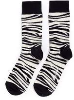 Happy Socks Zebra stripe socks