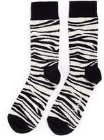 Happy Socks Zebra stripe socks