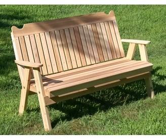 August Grove Foulk Wooden Garden Bench