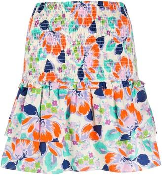 Cecilie Copenhagen Tess floral-print cotton skirt