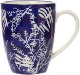 Linea Midnight Garden Blue Floral Mug