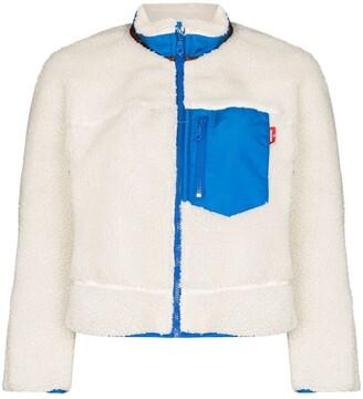 Denimist Contrast-Detailing Fleece Jacket