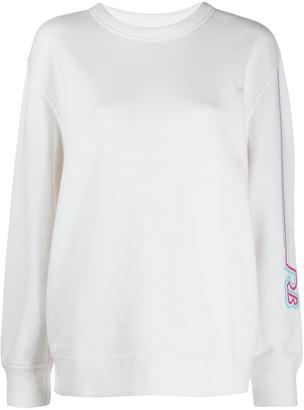 Rag & Bone Striped Sleeve Sweatshirt