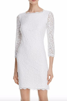 Adrianna Papell Illusion Sleeve Lace