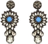 Deepa Gurnani Starlight Crystal Burst Earrings