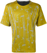 Issey Miyake graphic print T-shirt - men - Cotton/Polyester - 1