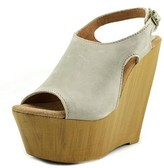 Sbicca Tullane Open Toe Leather Wedge Sandal.