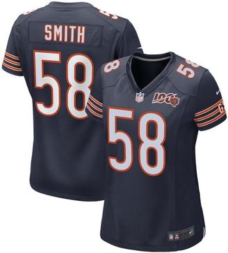 Nike Women's Roquan Smith Navy Chicago Bears 100th Season Game Jersey