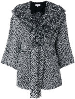 IRO textured coat - women - Cotton/Acrylic/Polyamide/Virgin Wool - 34