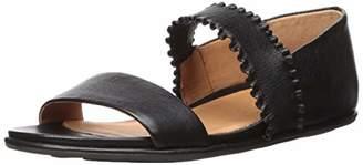 Gentle Souls Women's Lark Ruffle Strap Sandal Flat