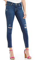 Levi's 711 Destructed Stretch Skinny Jeans