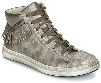 GBB FRANCESCA girls's Shoes (High-top Trainers) in Gold