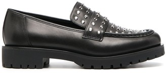 MICHAEL Michael Kors Studded Leather Loafers