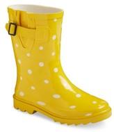 Girl's Novel Dot Rain Boots