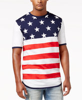 Reason Men's Graphic-Print Flag T-Shirt