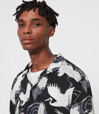 AllSaints Tsuru Long Sleeve Shirt