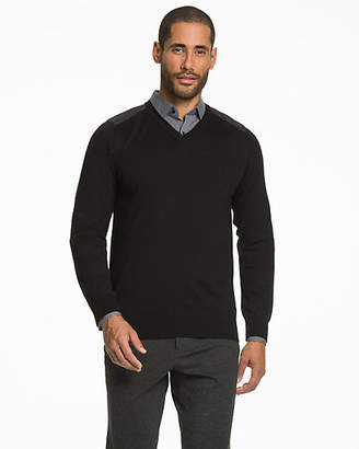 Le Château Wool Blend V-Neck Sweater