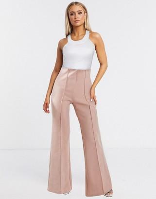 Aq/Aq AQAQ tailored trousers In light pink