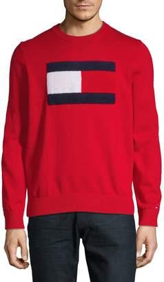 Tommy Hilfiger Logo Graphic Cotton Sweatshirt